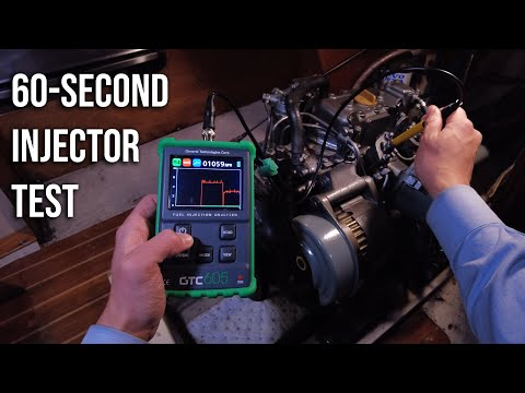 How to Quickly Check Mechanical Diesel Fuel Injectors with the GTC605