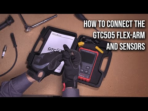 GTC505 - How to connect the flex-arm and sensors
